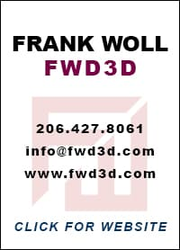 Frank Woll / FWD3D Design contact info panel