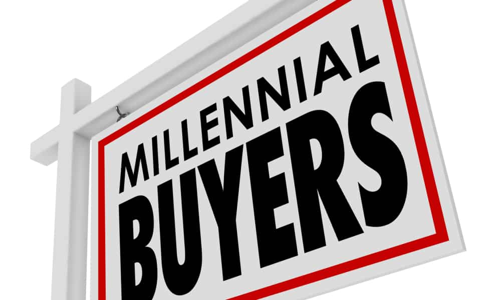 Millennial Buyers graphic