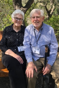 Margaret and Paul Smith at their home in Monterey, California